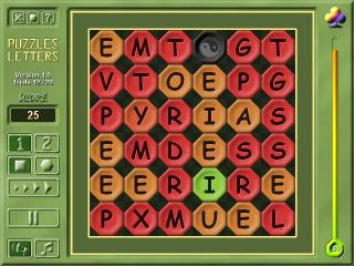 2M Puzzles Letters screenshot