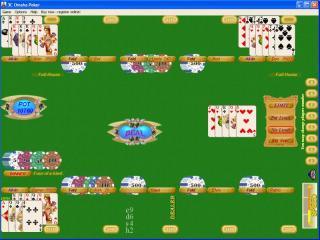 3C Omaha Poker screenshot