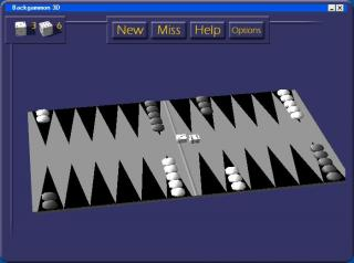 3D Backgammon screenshot