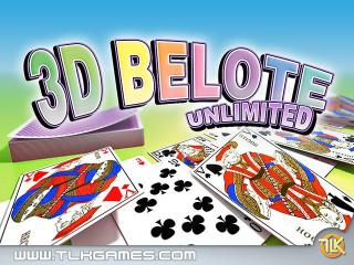 3D Belote Unlimited screenshot