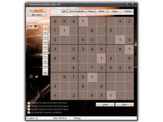 Andromeda SuDoKu Game screenshot