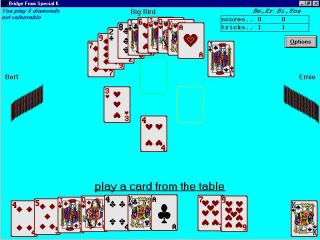 BRIDGE Card Game From Special K screenshot