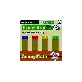 BunnyMath (For PalmOS) screenshot