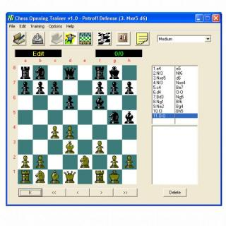Chess Opening Trainer screenshot