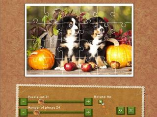 Holiday Jigsaw Thanksgiving Day screenshot