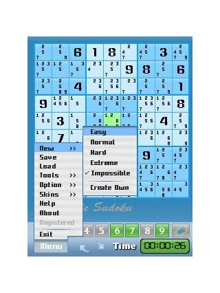 Impossible Sudoku For Pocket PC screenshot