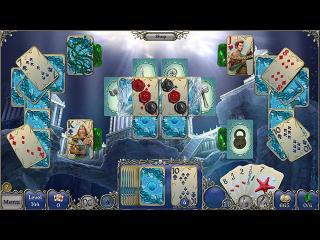 Jewel Match Solitaire: Atlantis Collector's Edition screenshot