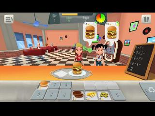 Math Burger screenshot
