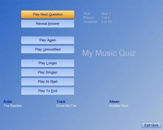 My Music Quiz screenshot