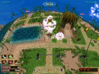 PacQuest 3D screenshot