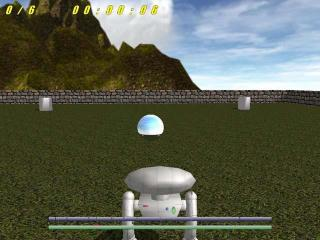Robot Recess Gravity Ball screenshot