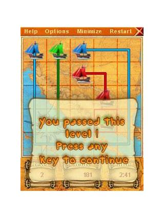 Sea puzzle for Pocket PC screenshot