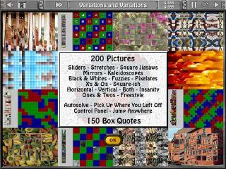Sliders and Other Square Jigsaw Puzzles screenshot