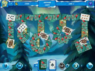 Solitaire Jack Frost: Winter Adventures 2 screenshot