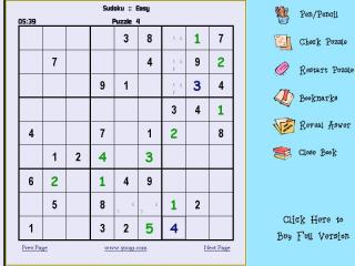 Sudoku Soft-Book screenshot