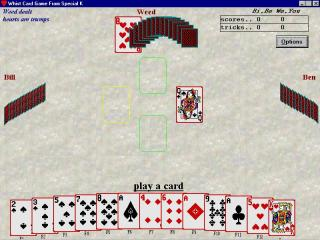 WHIST Card Game From Special K screenshot