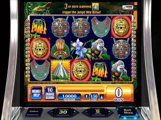 WMS Jungle Wild Slot Machine screenshot