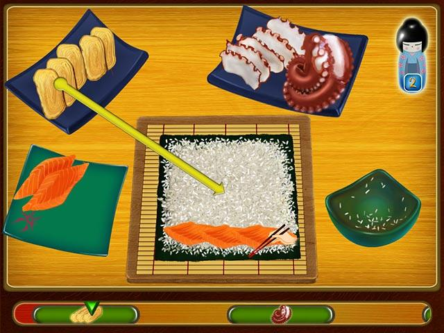 Asamis Sushi Shop Filed under Match 3
